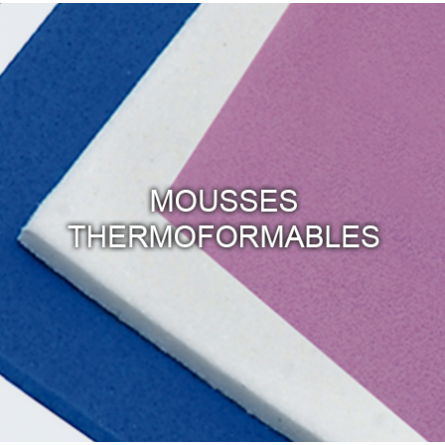 Mousses Thermoformables
