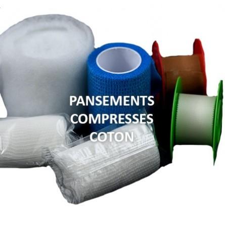 Pansements, Compresses, Coton
